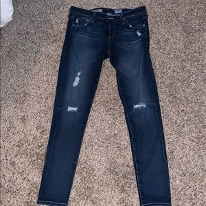 "EUC Distressed ""The Legging Ankle"" Jeans"